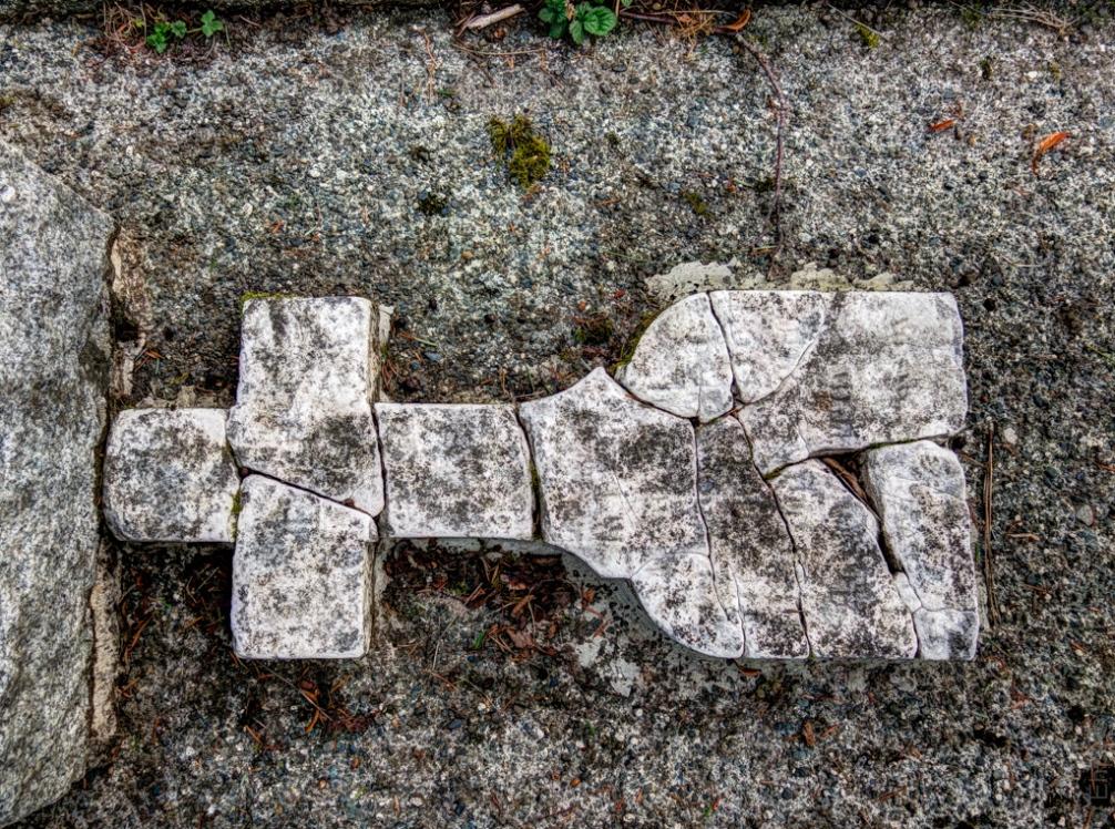 Cracked Cross 1