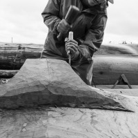 Carving in Old Massett