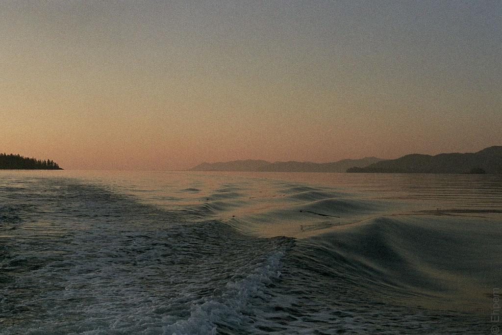 Sunrise south Darwin Sound