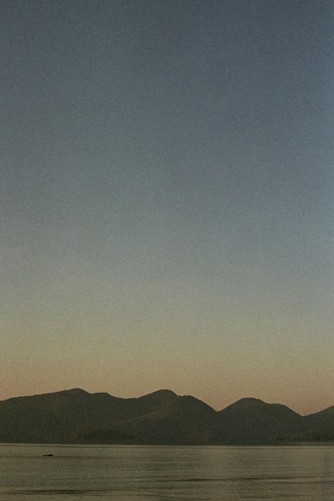 Darwin Sound sunrise