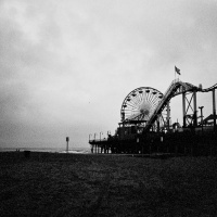 Santa Monica Pier on Film