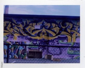 Graffiti on Cook Street at Mason